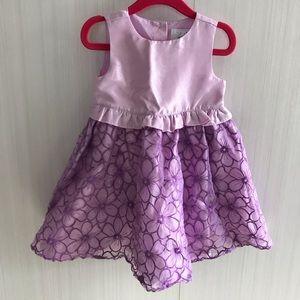 Formal dressed up by Gymboree light purple dress.